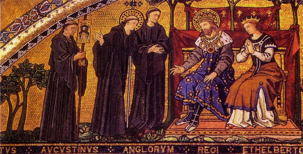 AUGUSTINE MEETS KING AETHELBERHT