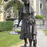 QUEEN BERTHA STATUTE CANTERBURY