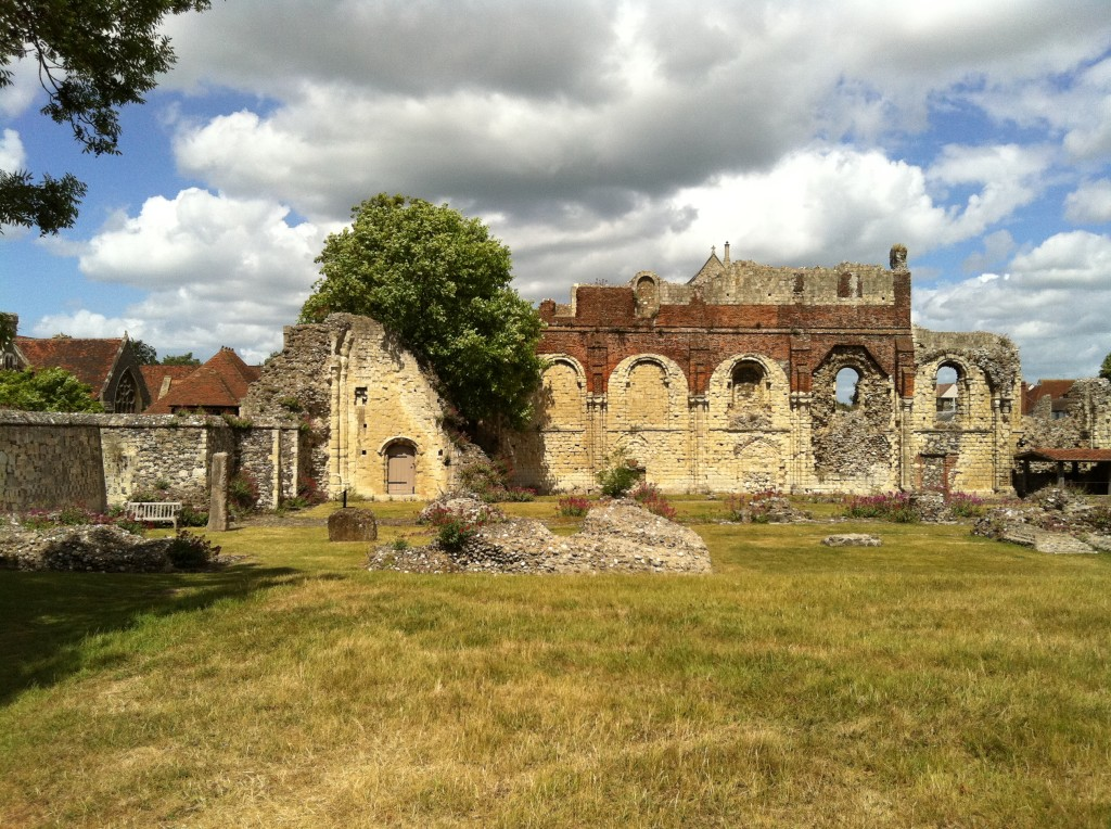 ST AUGUSTINE'S ABBEY CANTERBURY