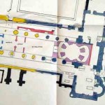 St Augustine's Abbey plan