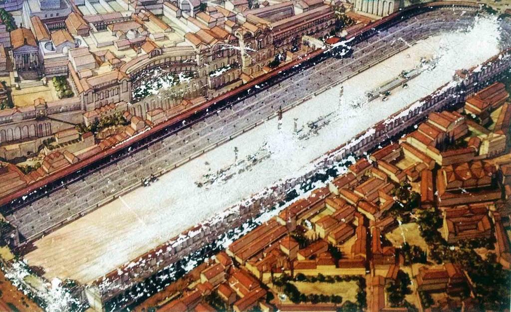 THE CIRCUS MAXIMUS -  RECONSTRUCTION