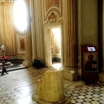POPE GREGORY'S THRONE AND CELL (RIGHT, BACKGROUND)