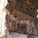JEWISH SLAVES - ARCH OF TITUS, ROMAN FORUM