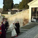 POPE AND ARCHBISHOP OF CANTERBURY 2012